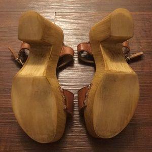 714c8d47172f Steve Madden Shoes - Steve Madden Lavii Wooden Wedge